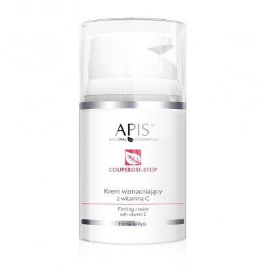 APIS veido kremas su Vitaminu C kuperozinei, jautriai odai, 50ml