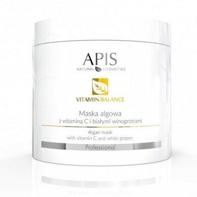 APIS veido kaukė Vitamin C Balance su baltosiomis vynuogėmis, 250gr