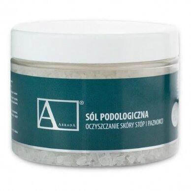 ARKADA druska pedikiūrui su arbatmedžio aliejumi, 500g