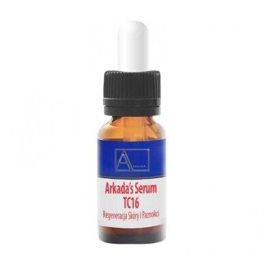 Arkada kolageno serumas odos ir nagų priežiūrai, 11ml
