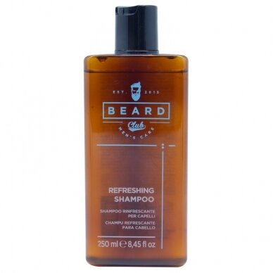 Atgaivinantis šampūnas KAY PRO BEARD CLUB, 250ml
