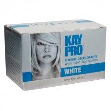 Balinantys milteliai plaukams KAY PRO Bleaching Powder White, balti, 500gr