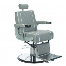 Barberio krėslas BH-31825M, pilkos sp.