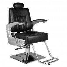 Barberio krėslas HAIR SYSTEM SM182, juodos sp.