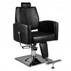 Barberio krėslas HAIR SYSTEM SM184, juodos sp.