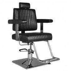 Barberio krėslas HAIR SYSTEM SM185, juodos sp.