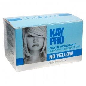 Balinantys plaukų milteliai KAYPRO Bleaching Powder Dust Free No Yellow, mėlyni, 500gr