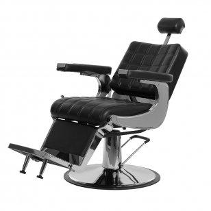 Barberio krėslas Weelko Bessone, juodos sp.