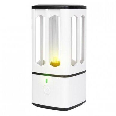 Baktericidinė, mobili lempa UV-C + OZON