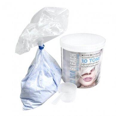 Balinanti plaukų pudra iki 10 tonų KAYPRO Ultra Bleach No Yellow, 500gr 2