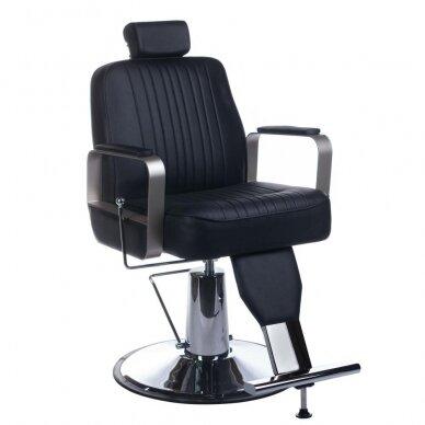 Barberio krėslas BH-31237, juodos sp.