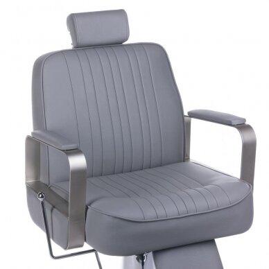 Barberio krėslas BH-31237, pilkos sp. 2