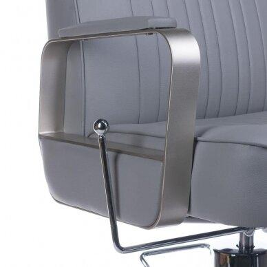 Barberio krėslas BH-31237, pilkos sp. 7