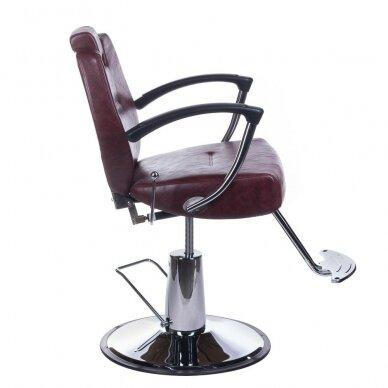 Barberio krėslas BH-3208, bordo sp. 3