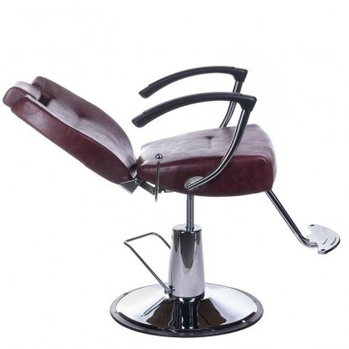 Barberio krėslas BH-3208, bordo sp. 4