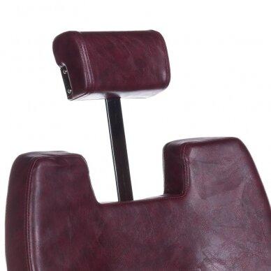 Barberio krėslas BH-3208, bordo sp. 5