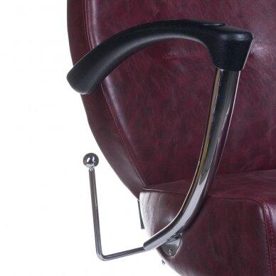 Barberio krėslas BH-3208, bordo sp. 7