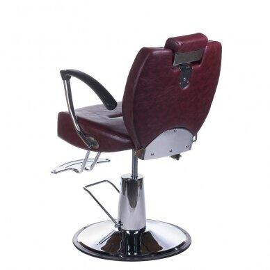 Barberio krėslas BH-3208, bordo sp. 8