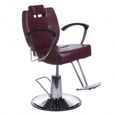 Barberio krėslas BH-3208, bordo sp.