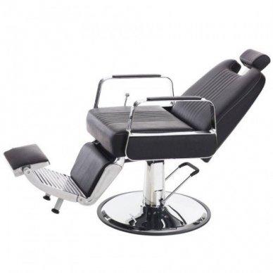 Barberio krėslas 8751-1, juodos sp. 2