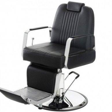 Barberio krėslas 8751-1, juodos sp.
