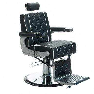 Barberio krėslas BH-31825M, juodos sp.