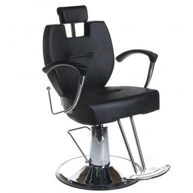 Barberio krėslas BH-3208, juodos sp.