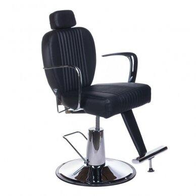 Barberio krėslas BH-3273, juodos sp.