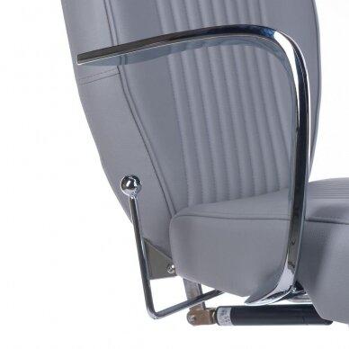 Barberio krėslas BH-3273, pilkos sp. 7
