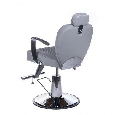 Barberio krėslas BH-3273, pilkos sp. 8