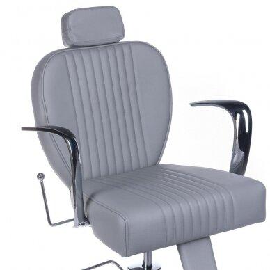Barberio krėslas BH-3273, pilkos sp. 2