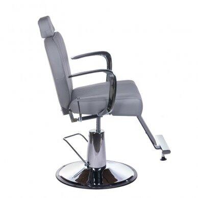 Barberio krėslas BH-3273, pilkos sp. 3