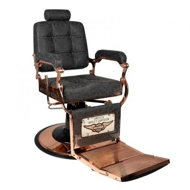 Barberio krėslas BOSS HD VARIO, juodos sp. 2