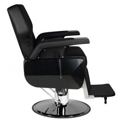 Barberio krėslas CHICAGO, juodos sp. 2