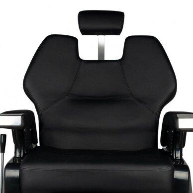 Barberio krėslas CHICAGO, juodos sp. 5