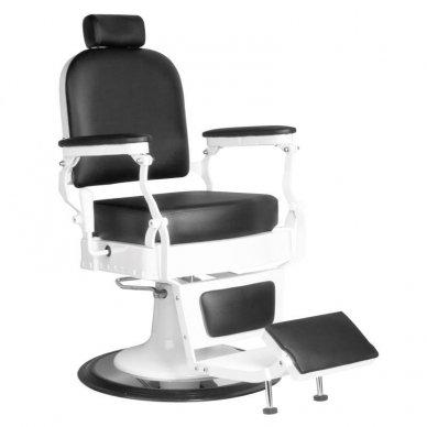 Barberio krėslas FABRIZIO, juodos sp.