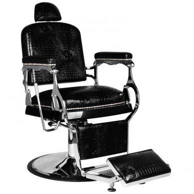 Barberio krėslas GABBIANO ALFREDO, juodos sp.