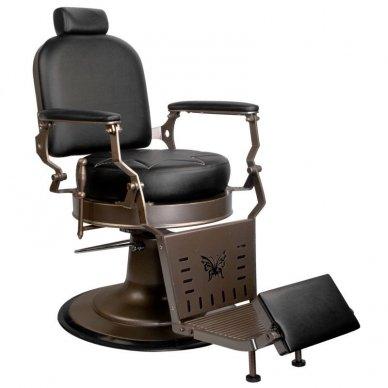 Barberio krėslas GABBIANO BLACK STAR, juodos sp.