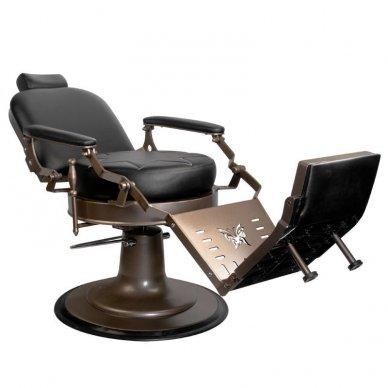 Barberio krėslas GABBIANO BLACK STAR, juodos sp. 3