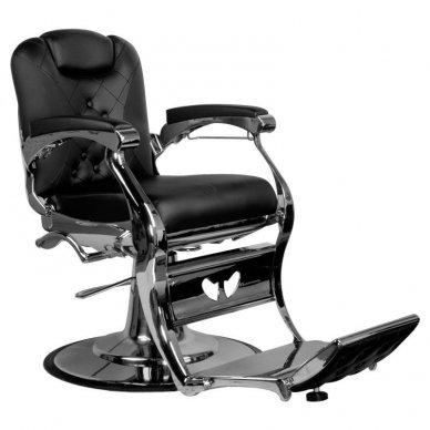 Barberio krėslas Gabbiano Carlo, juodos sp. 5