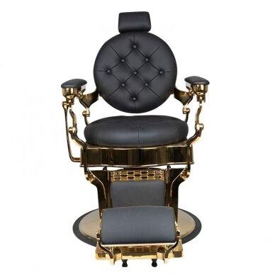 Barberio krėslas GABBIANO CLAUDIUS, juodos/aukso sp. 6