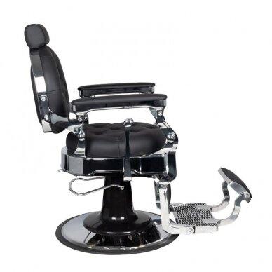 Barberio krėslas GABBIANO CLAUDIUS, juodos/sidabro sp. 3