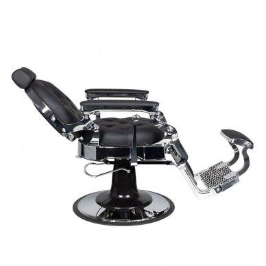 Barberio krėslas GABBIANO CLAUDIUS, juodos/sidabro sp. 4