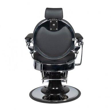 Barberio krėslas GABBIANO CLAUDIUS, juodos/sidabro sp. 5
