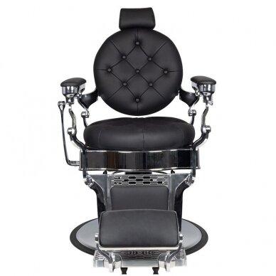 Barberio krėslas GABBIANO CLAUDIUS, juodos/sidabro sp. 6