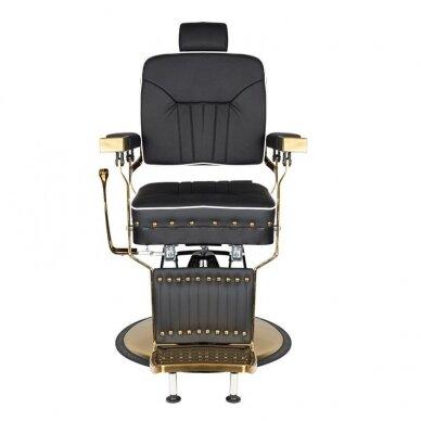 Barberio krėslas GABBIANO FILIPPO, juodos/aukso sp. 3