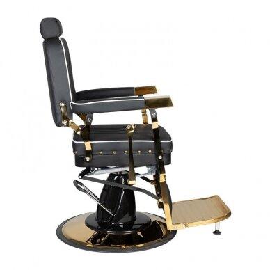 Barberio krėslas GABBIANO FILIPPO, juodos/aukso sp. 4