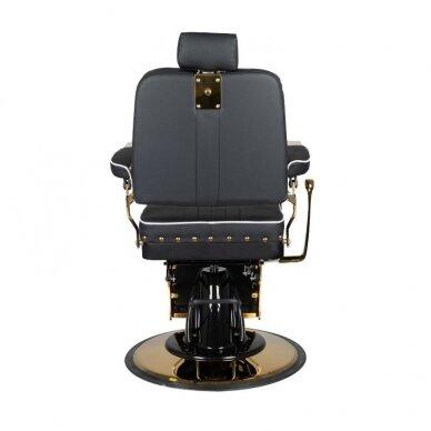 Barberio krėslas GABBIANO FILIPPO, juodos/aukso sp. 5