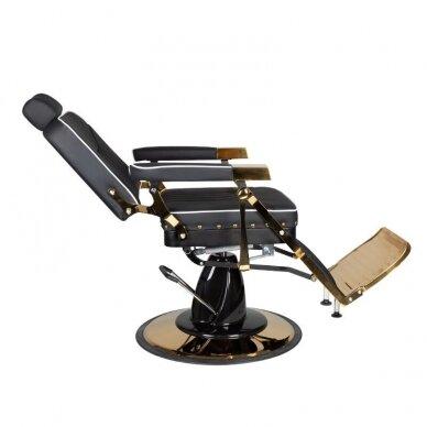 Barberio krėslas GABBIANO FILIPPO, juodos/aukso sp. 2