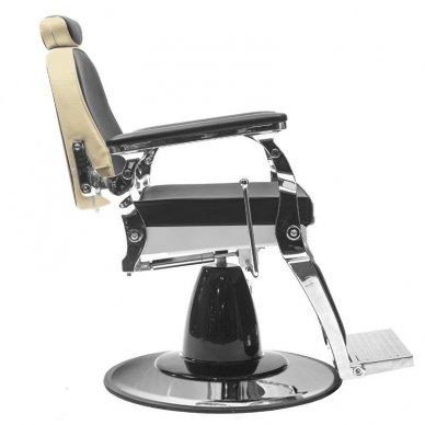 Barberio krėslas GABBIANO FREDERICO, juodos-baltos sp. 3
